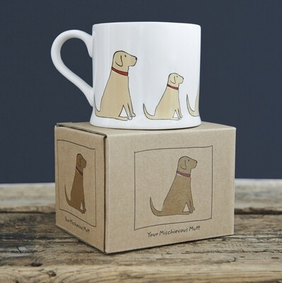 Sweet William Mug - Yellow Labrador