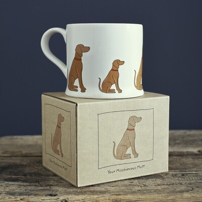 Sweet William Mug - Vizsla