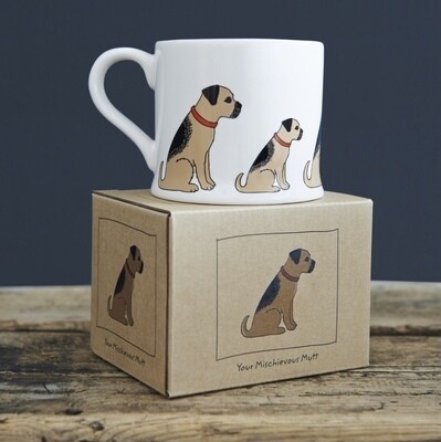 Sweet William Mug - Border Terrier