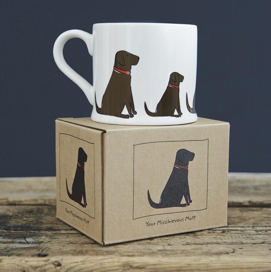 Sweet William Mug - Chocolate Labrador