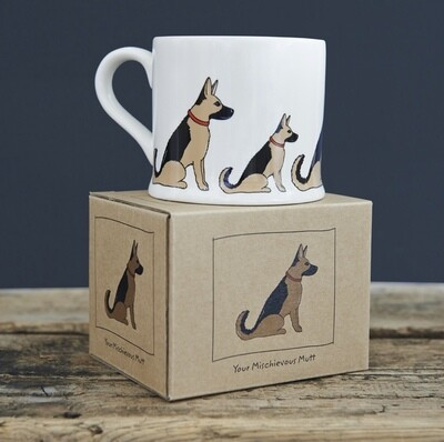 Sweet William Mug - German Shepherd
