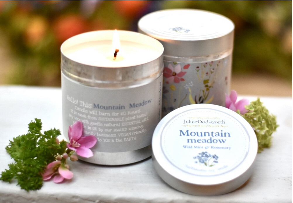 Mountain Meadow - Candle in a Tin