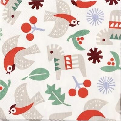 Christmas Napkins - Nordic Style