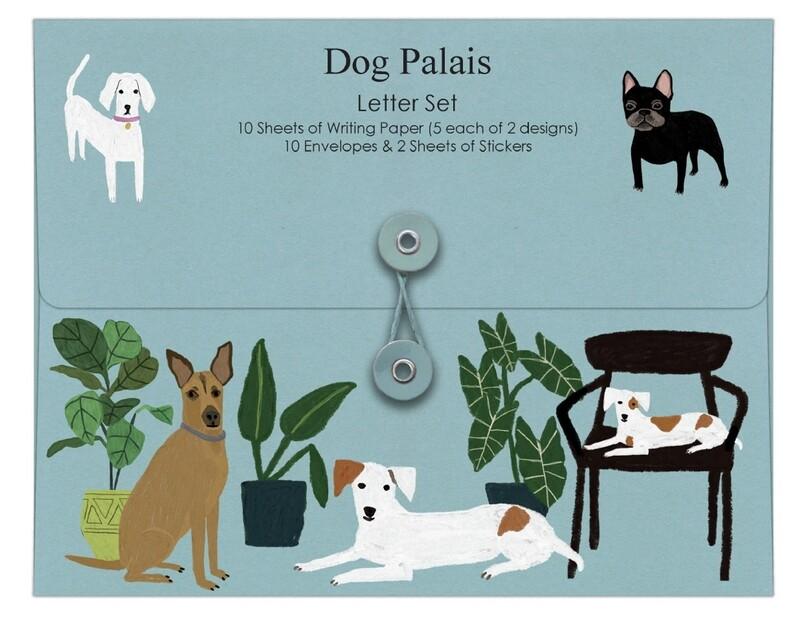 Roger la Borde Writing Set Dog Palais