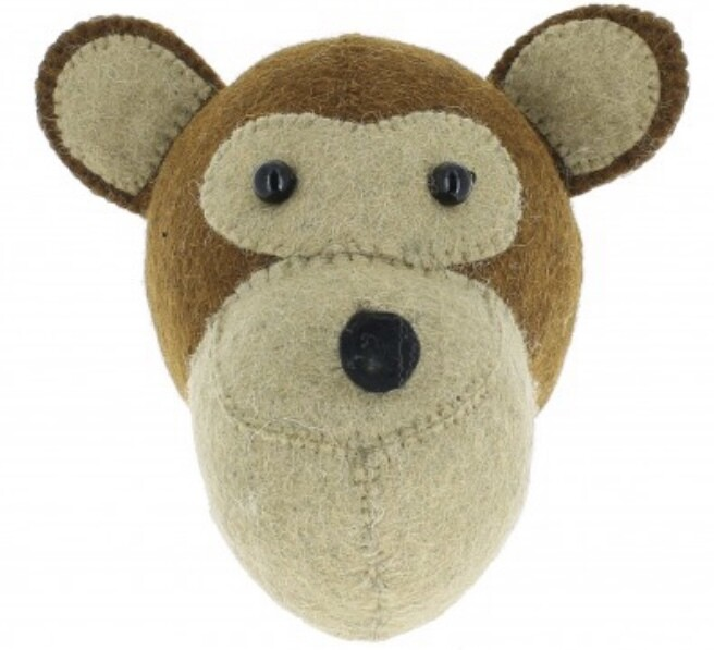 Fiona Walker Monkey Mini Head