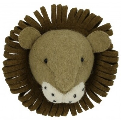 Fiona Walker Lion Mini Head