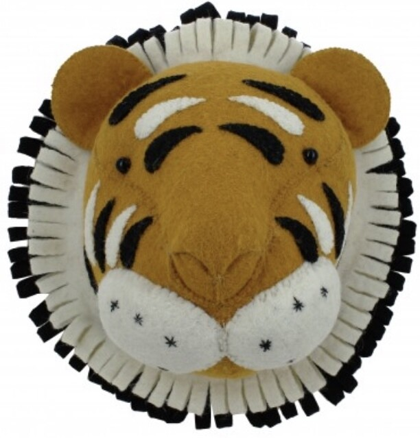 Fiona Walker Tiger Mini Head