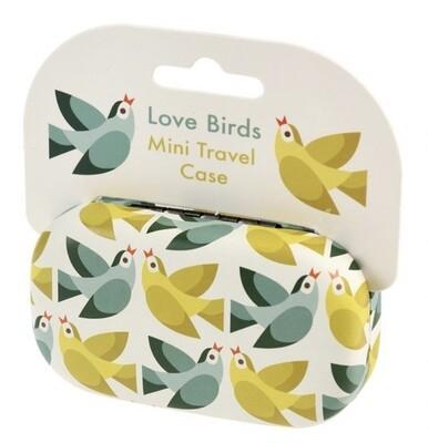 Mini Travel Case - Love Birds