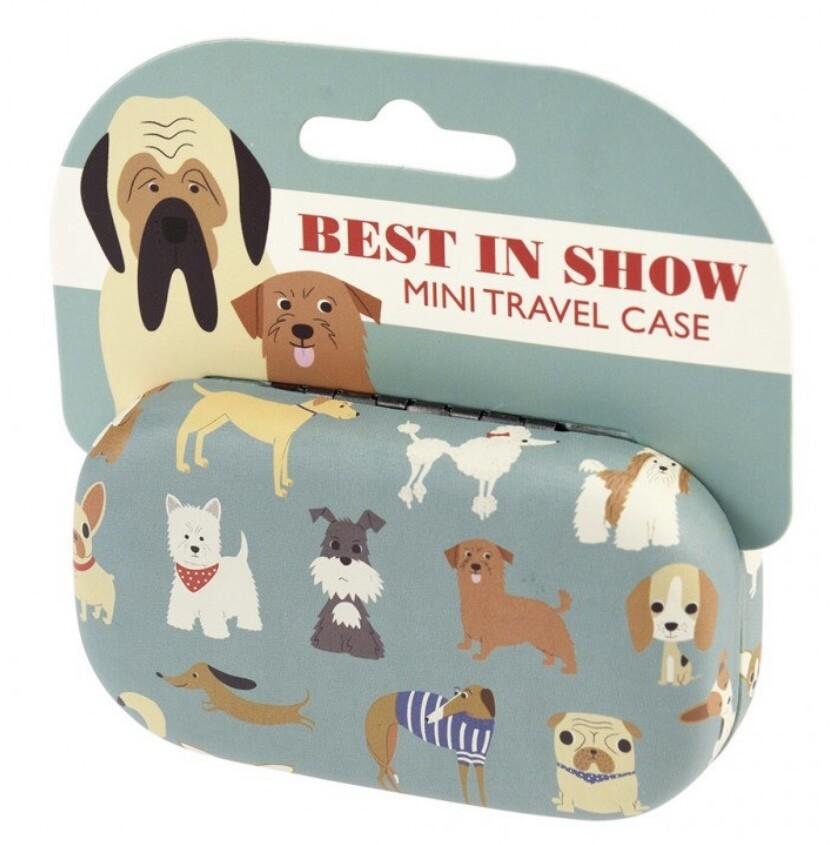 Mini Travel Case - Dogs