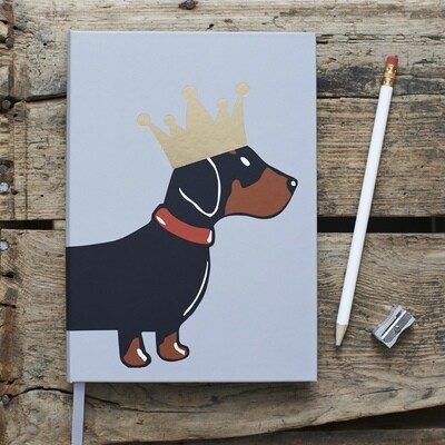 Sweet William Dachsund Notebook