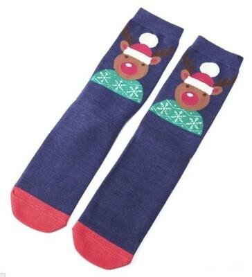 Men's Bamboo Socks Reindeer