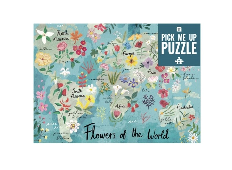 Jigsaw Puzzle Flowers 500 Pieces