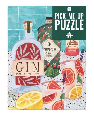 Jigsaw Puzzle Gin 500 pieces