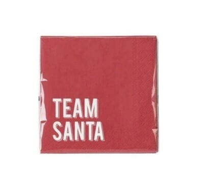Christmas Napkins - Team Santa