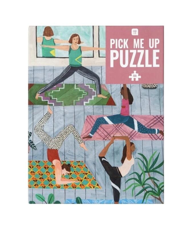Jigsaw Puzzle Yoga 500 pieces