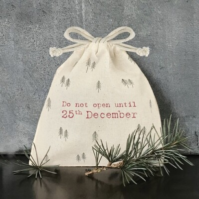 East of India Gift Bag Do Not Open