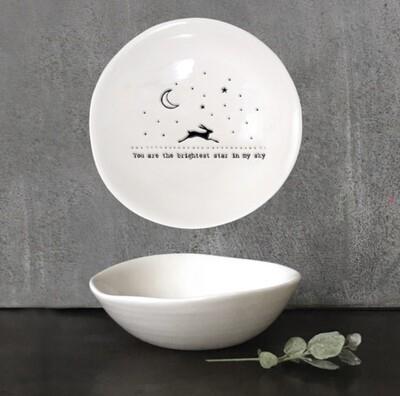 East of India Ceramic Bowl