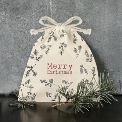 East of India Gift Bag Merry Christmas