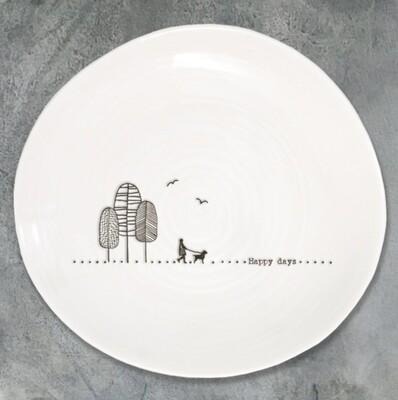 East of India Ceramic Plate