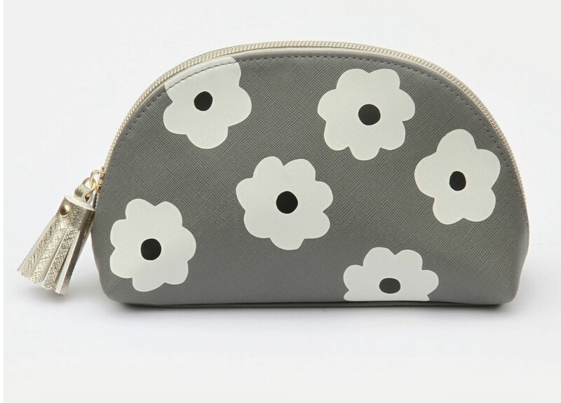 Caroline Gardner Make Up Bag Daisy