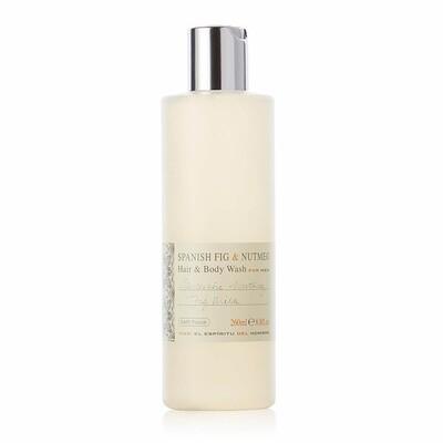 The Bath House Spanish Fig & Nutmeg Hair & Body Wash 260 ml