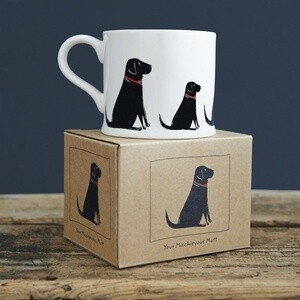 Sweet William Mug - Black Labrador