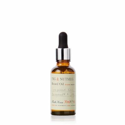 The Bath House Fig & Nutmeg Beard Oil