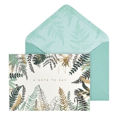 Portico Designs Fern Notecards