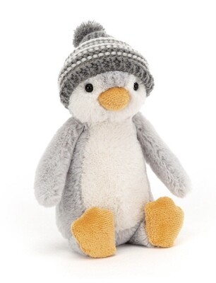 Jellycat Bashful Grey Bobble Penguin
