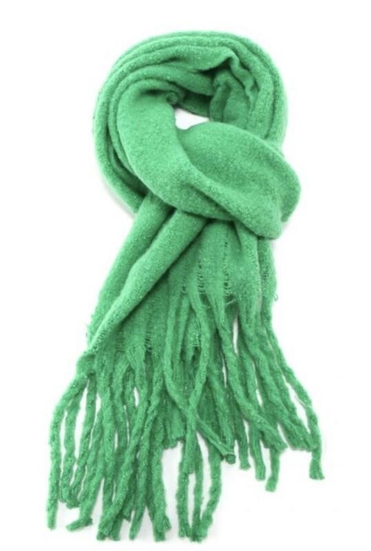 Fashion Scarf Bright Green