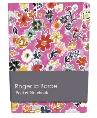 Roger la Borde Wild Batik Pocket Notebook