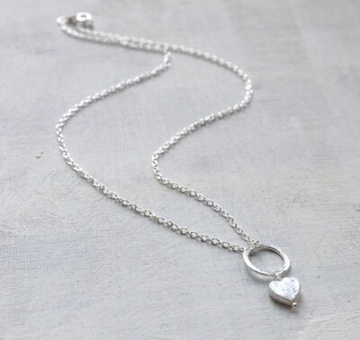 LWL Freshwater Pearl Necklace Silver