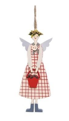 Gisela Graham Hanging Christmas Angel