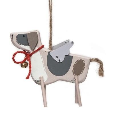 Gisela Graham Dog Christmas Decoration