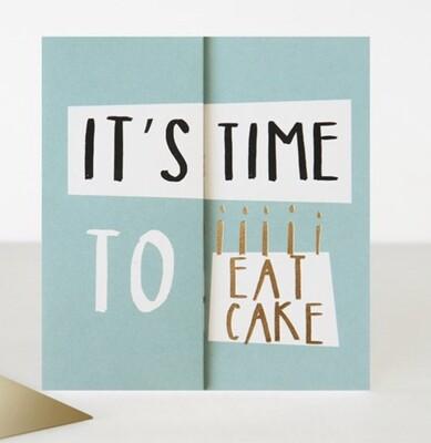 Card CG - Time to Eat Cake