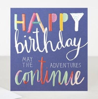 Card CG - Happy Birthday Adventure