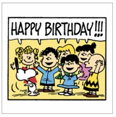 Card SN - Happy Birthday