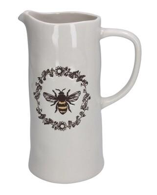 Gisela Graham Ceramic Bee Jug - Large