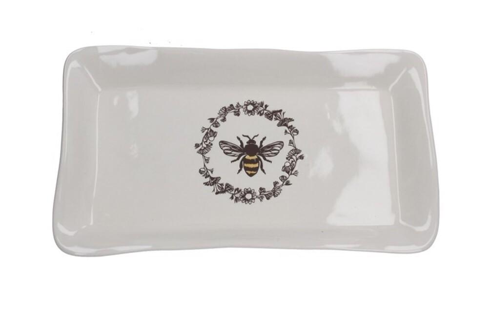 Gisela Graham Ceramic Bee Plate