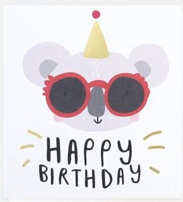 Card CG Happy Birthday Koala