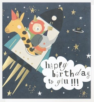 Card CG Space Animals