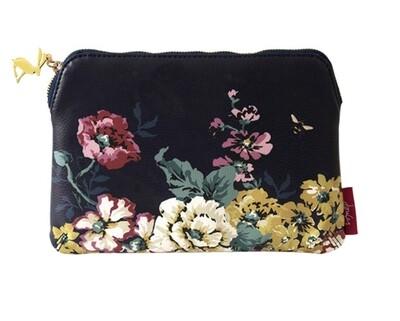 Portico Floral Zip Pouch