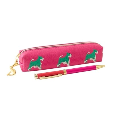 Portico Dog Pen and Pouch Set