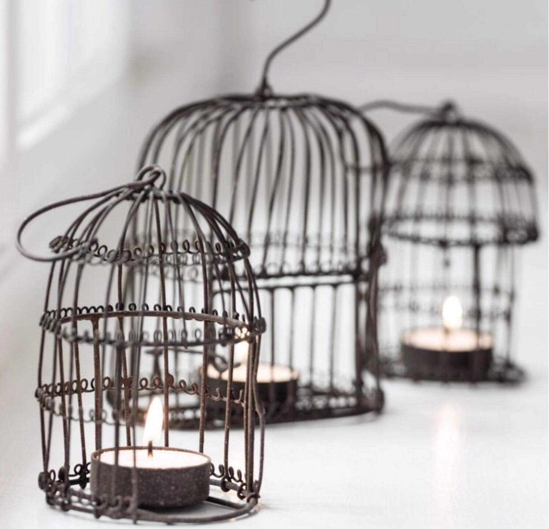 Birdcage T light Holder Mini