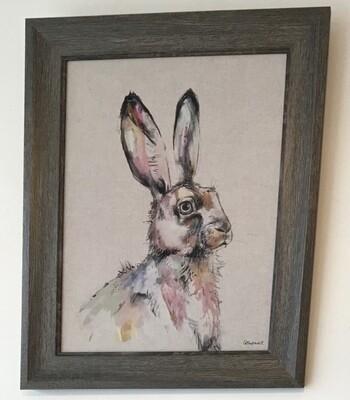 Hare Print - Jill