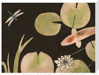 Canvas Print - Fish Pond 1