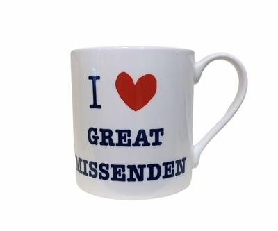 I Love Great Missenden Mug LARGE