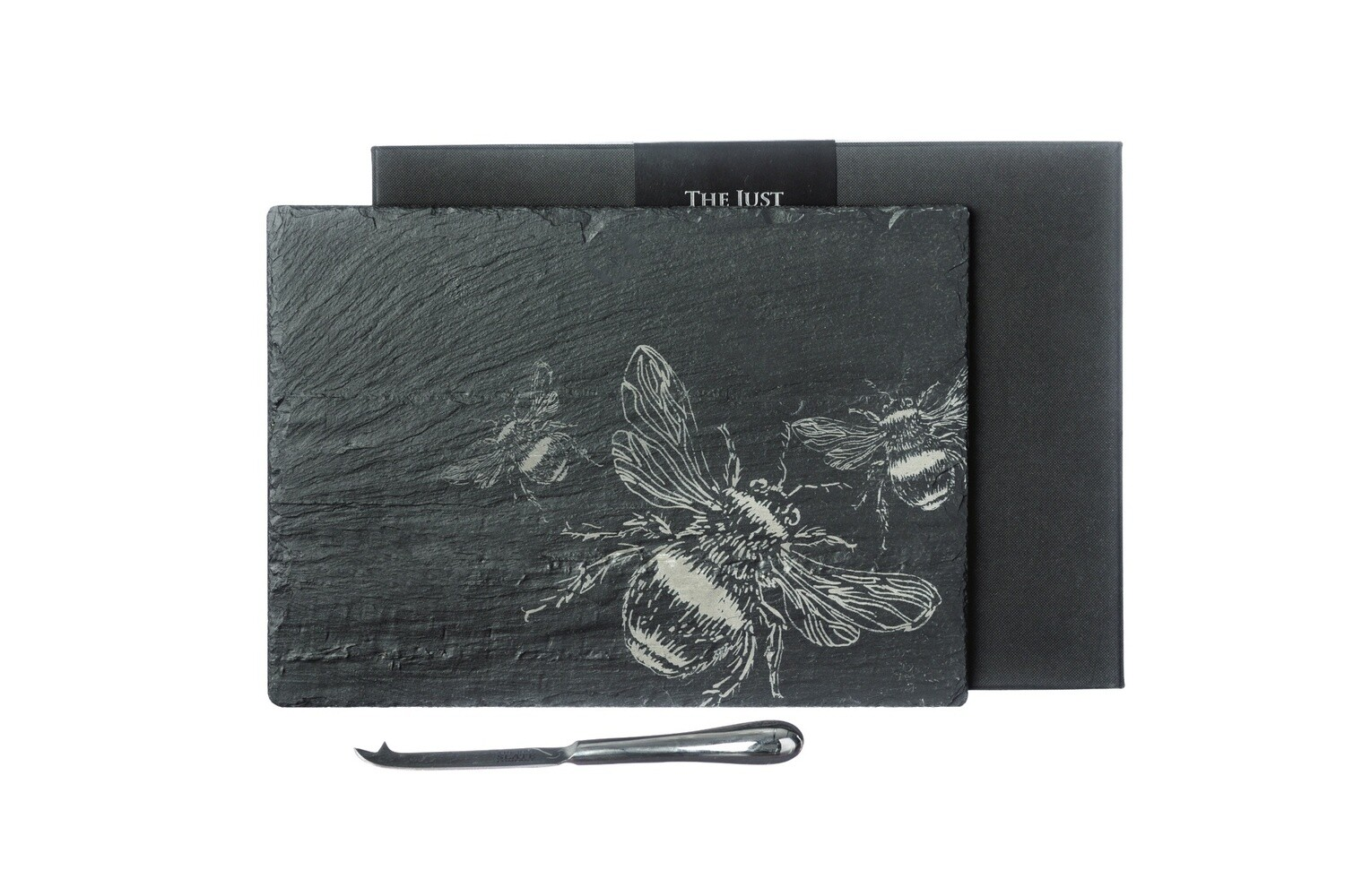 Etched Bee Cheese Board & Knife Gift Set