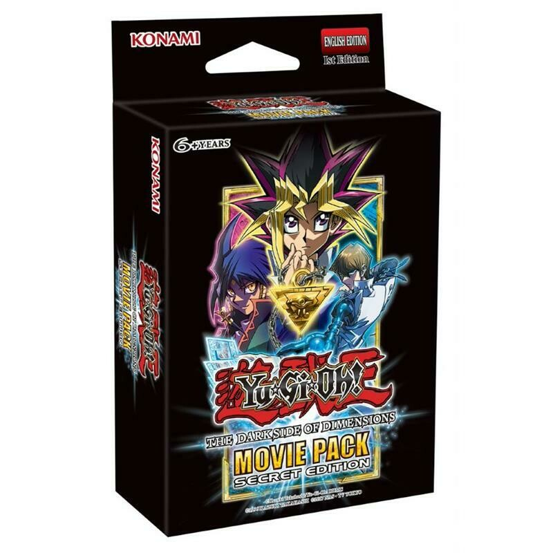 Pack YGO The Dark Side of Dimensions Movie Pack Secret