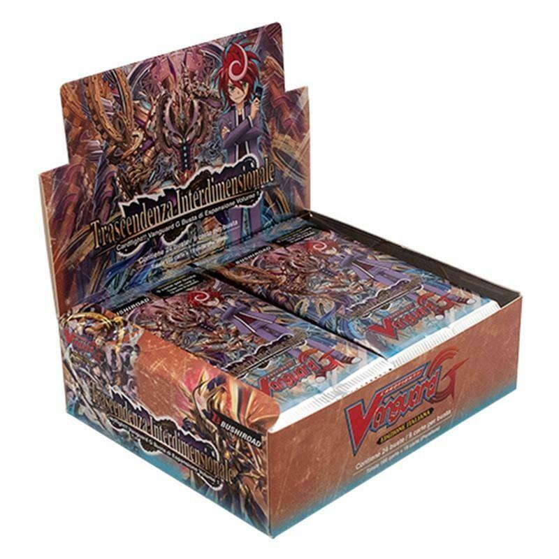 Box Buste CF Vanguard GBT01 Trascendenza Interdimensionale (24 buste)